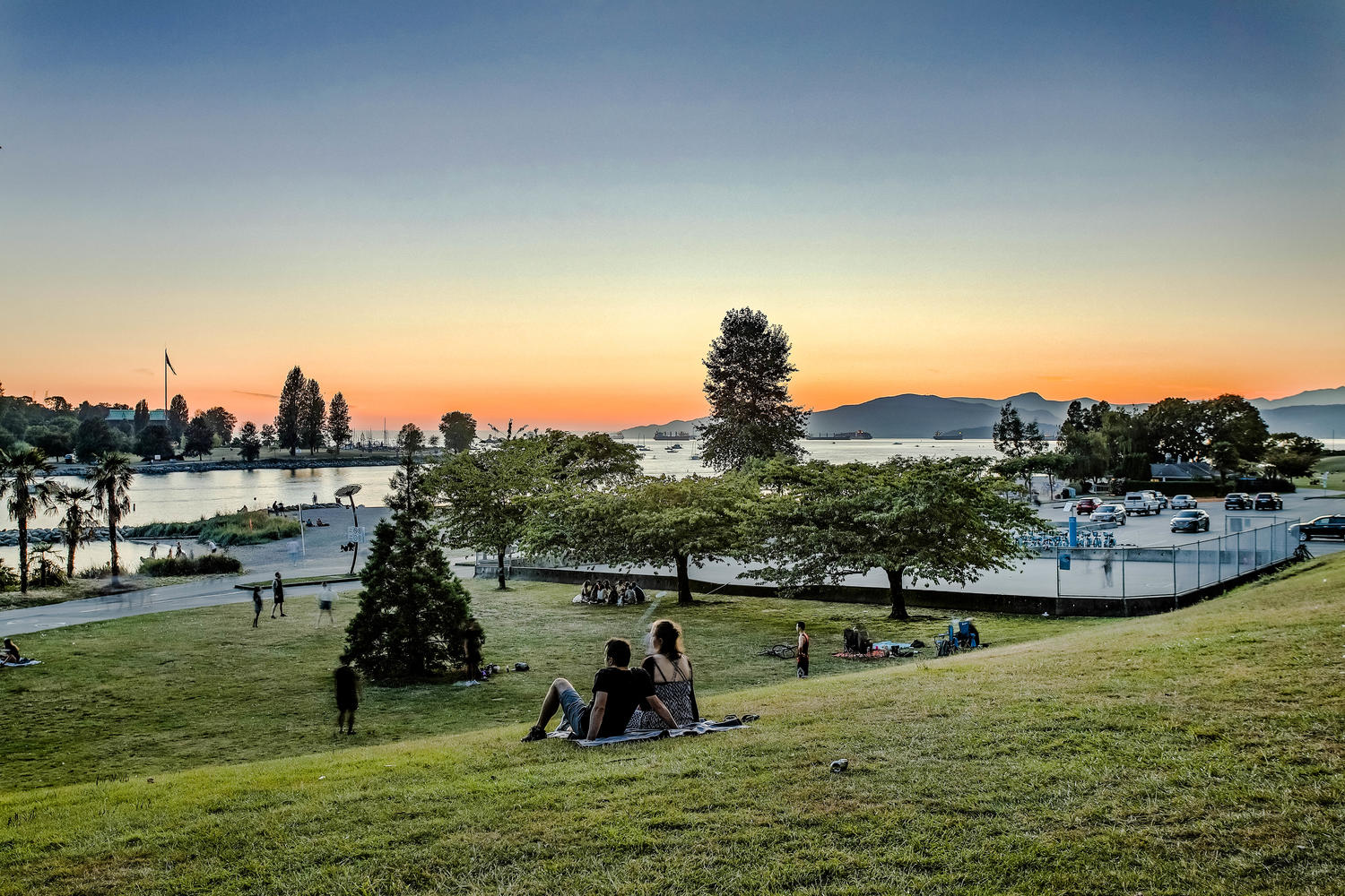 Sunset Beach Vancouver BC