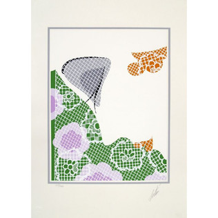 Summer Serigraph 18 x 13 in. 79/260 Hand-signed and numbered
