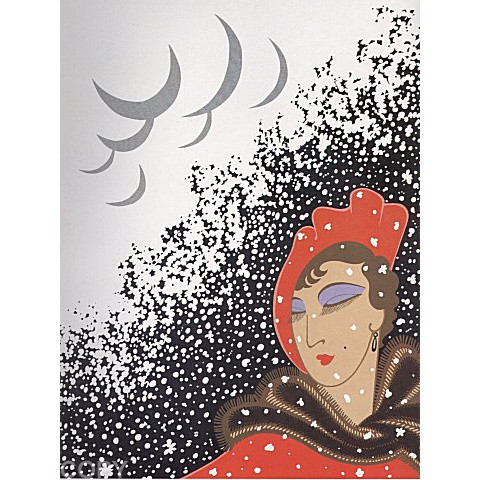 Winter Serigraph 20 x 14 in. 170/260 Hand-signed and numbered
