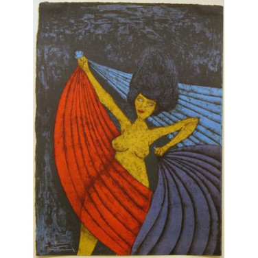 Rufino Tamayo 'Salome' 1984 Lithograph on paper 198/250 199/250 Hand-signed and numbered