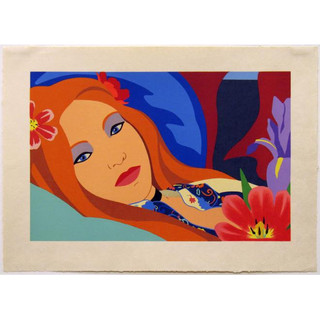 Tom Wesselmann 'Lulu' 1984 Lithograph on paper 198/250 199/250 Hand-signed and numbered