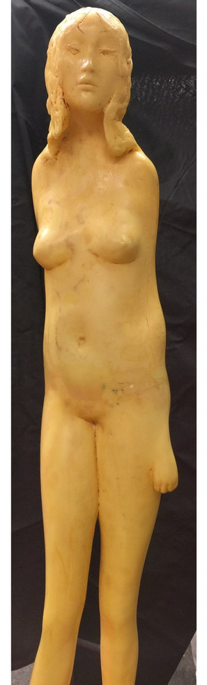 Untitled (Nude) 1966 Epoxy resin 39 x 27 x 10 in. Hand-signed and dated