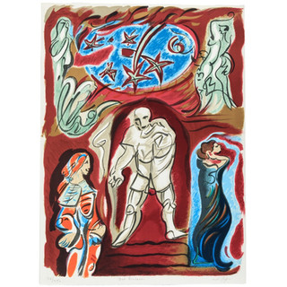 Andre Masson 'Don Giovanni' 1978 Lithograph 197/250