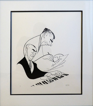 Oh, What A Beautiful Morning! (Rogers & Hammerstein)  Lithograph 13 x 10 in. 21 1/2 x 19 in. framed 69/100 Hand-signed and numbered