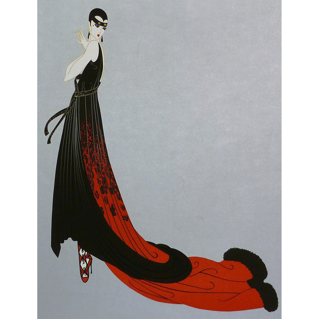 Splendeur Serigraph 26 x 21 in. 187/260 Hand-signed and numbered