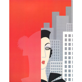 Fashions Serigraph 21 x 17 in. 44/260 Hand-signed and numbered