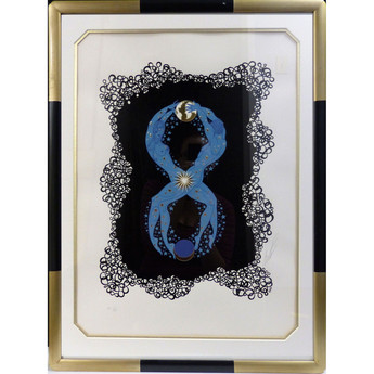 8 1980 Lithograph 16 1/2 x 12 in. 39 1/2 x 24 in. framed 26/350 AP 1/29 Hand-signed and numbered
