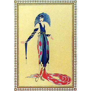 La Pretentieuse 1979 Lithograph 15 x 10 1/2 in. The Vamps Portfolio 11/300 Hand-signed and numbered