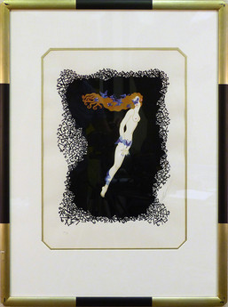 7 1980 Lithograph 16 1/2 x 12 in. 39 1/2 x 24 in. framed 26/350 AP 1/29 Hand-signed and numbered