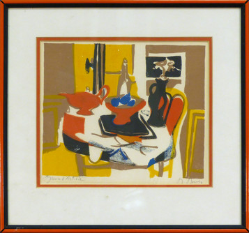 Untitled Lithograph 8 x 9 1/2 in. 14 x 14 1/2 in. framed AP Hand-signed and numbered
