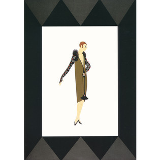 Manhattan Mary II Serigraph 23 x 16 in. 271/300 Hand-signed and numbered