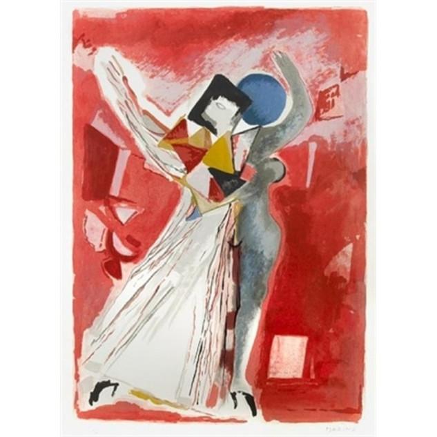 Marino Marini 'La Traviata' 1978 Lithograph 197/250