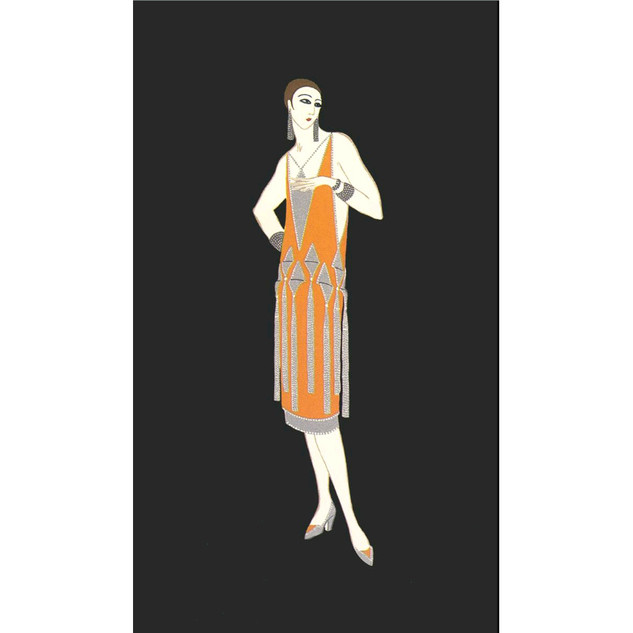 Manhattan Mary Serigraph 21 x 17 in. 297/300 Hand-signed and numbered