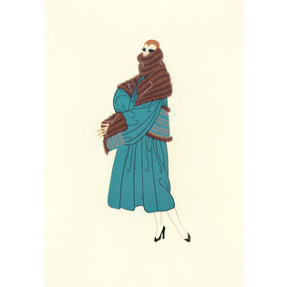 Tres Chic Serigraph 16 x 12 in. 262/300 Hand-signed and numbered