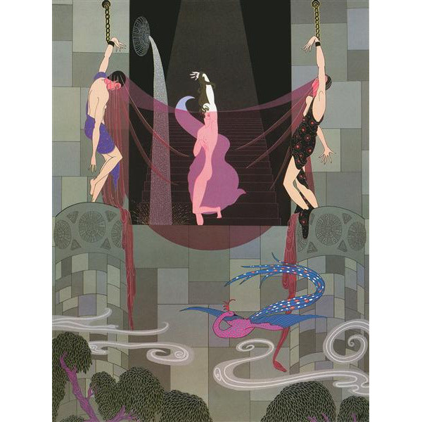 The Chaste Susanna Serigraph 25 x 18 in. Hand-signed and numbered