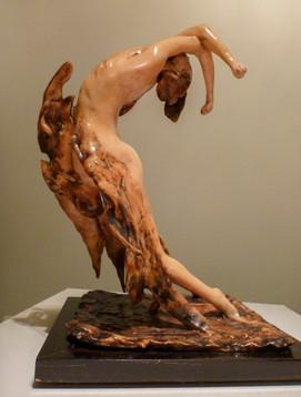 Rocket Man [from the Twelve Erotic Fantasies portfolio] 1973 Epoxy sculpture 9 1/4 x 8 3/4 x 14 in.  ed. 10  Signed