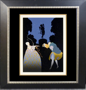 Rendezvous Serigraph 24 x 18 in. 220/300 Hand-signed and numbered