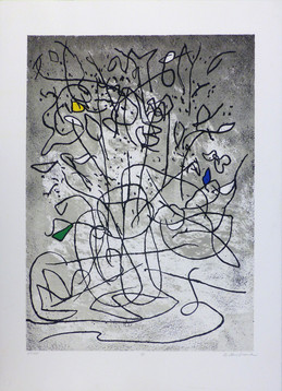 Etude I Lithograph 21 x 28 1/2 in. PP