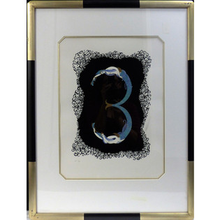 3 1980 Lithograph 16 1/2 x 12 in. 39 1/2 x 24 in. framed 26/350 AP 1/29 Hand-signed and numbered