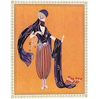 Calyph's Concubine 1988 Lithograph 17 x 10 in. 151/300 Hand-signed and numbered