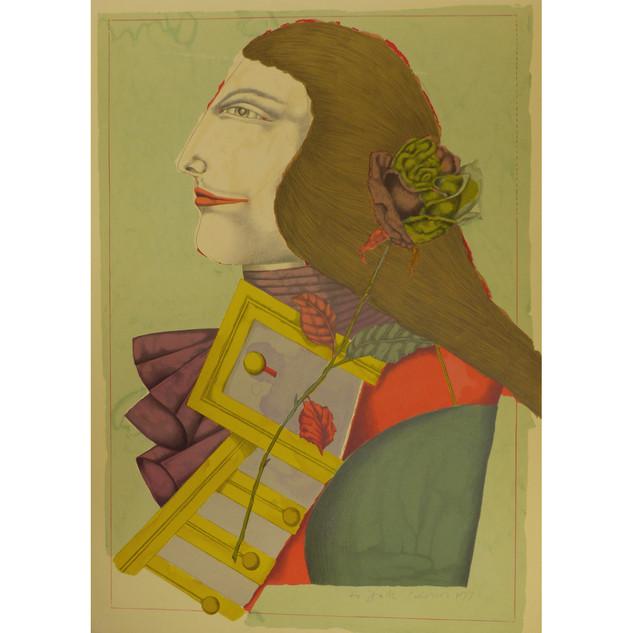 Richard Lindner 'Der Rosenkavalier' 1978 Lithograph 30 x 22 in. 197/250