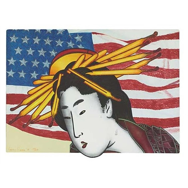 Larry Rivers 'Madame Butterfly' 1978 Lithograph 197/250
