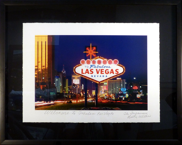 Welcome to Fabulous Las Vegas Hand-signed