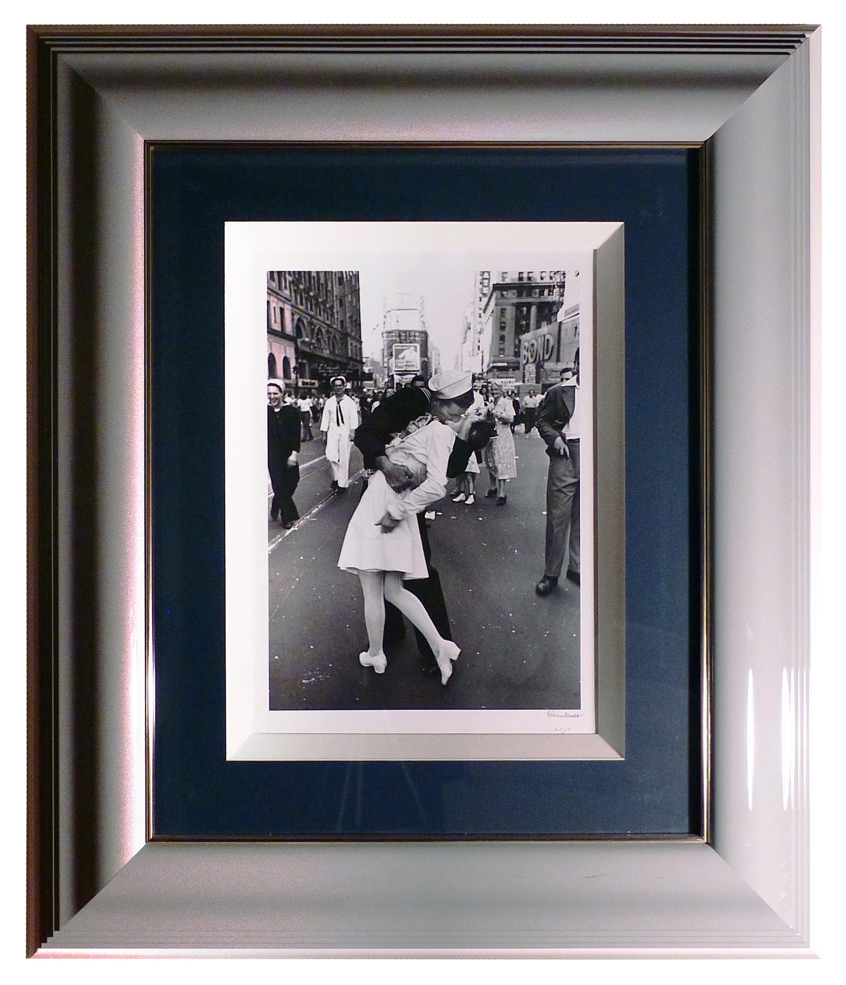 VJ Day in Times Square  1945 Gelatin silver print 11 x 8 in. 33/50 Hand-signed and numbered