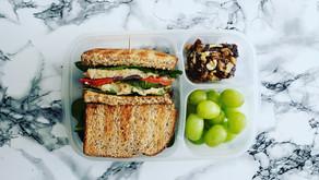 Fırında Közlenmiş Sebze ve Leziz Fasulye Ezmeli Sandviç