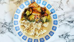 Soya Soslu Kış Sebzeleri ve Tofu