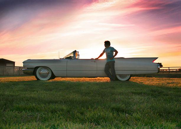 Mark Andrew & his  66 Caddy