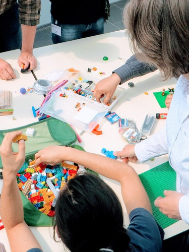 Teamentwicklung mit LEGO® SERIOUS PLAY®