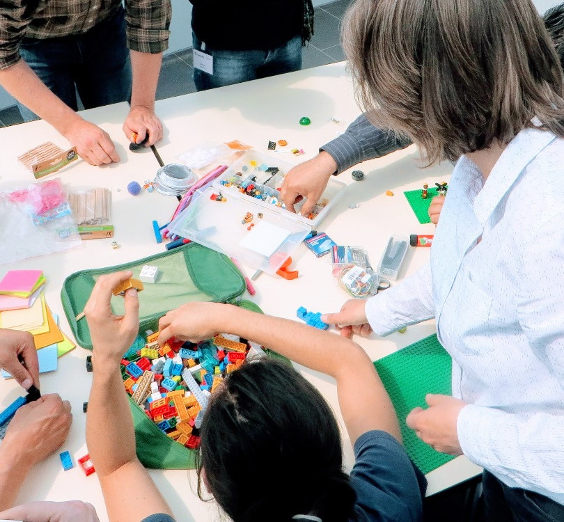 Teamentwicklung mit LEGO® SERIOUS PLAY®