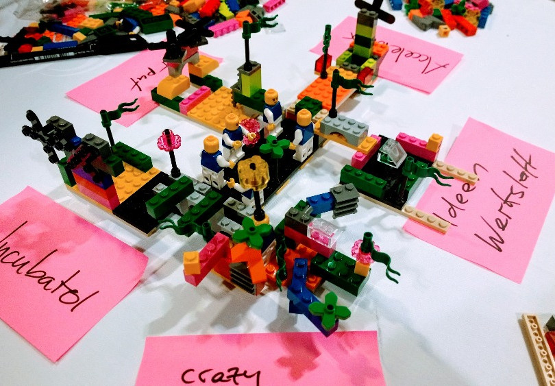 LEGO® SERIOUS PLAY® am Swiss Innovation Forum