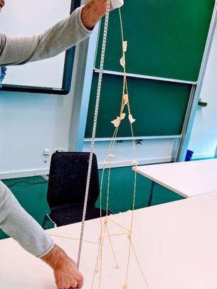 Marshmallow Challenge. Ein Spiel mit Hintergrund