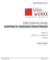 Corporate Foresight Fallstudie by SOULWORXX