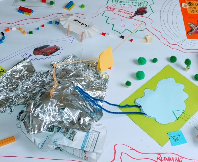 Pretotyping künftiger Kinderspielplatz