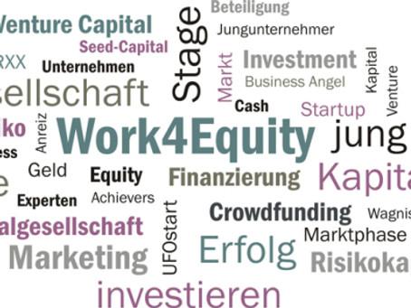 Work for Equity. Neues Zauberwort.