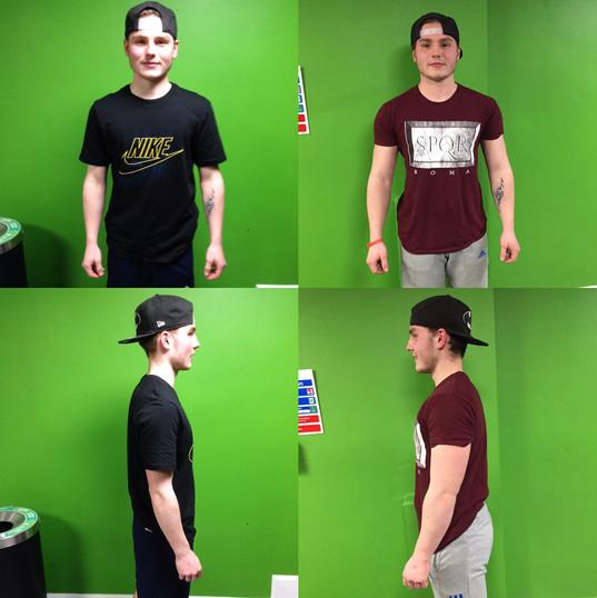 1 Year Muscle Gain