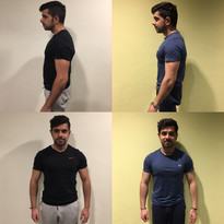 3 Months Muscle Gain