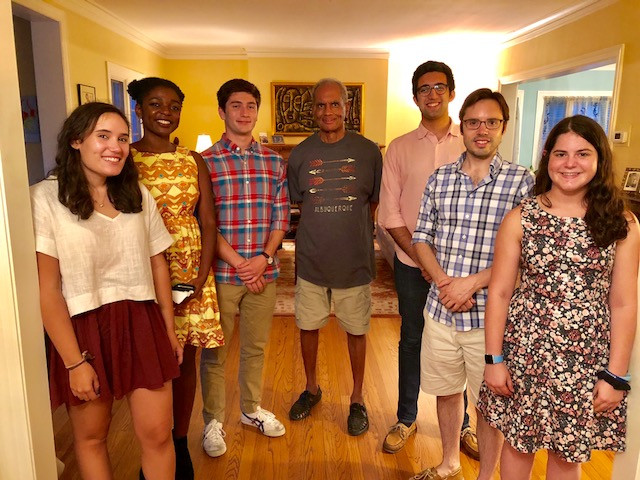 Summer 2018 Research Team Dinner