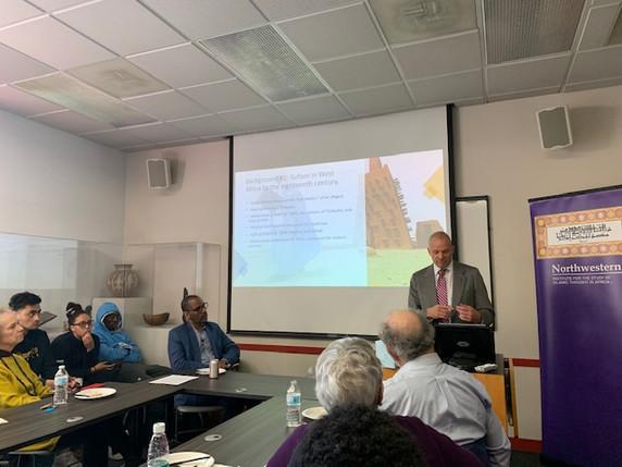 Prof. Zachary Wright, Northwestern University-Qatar