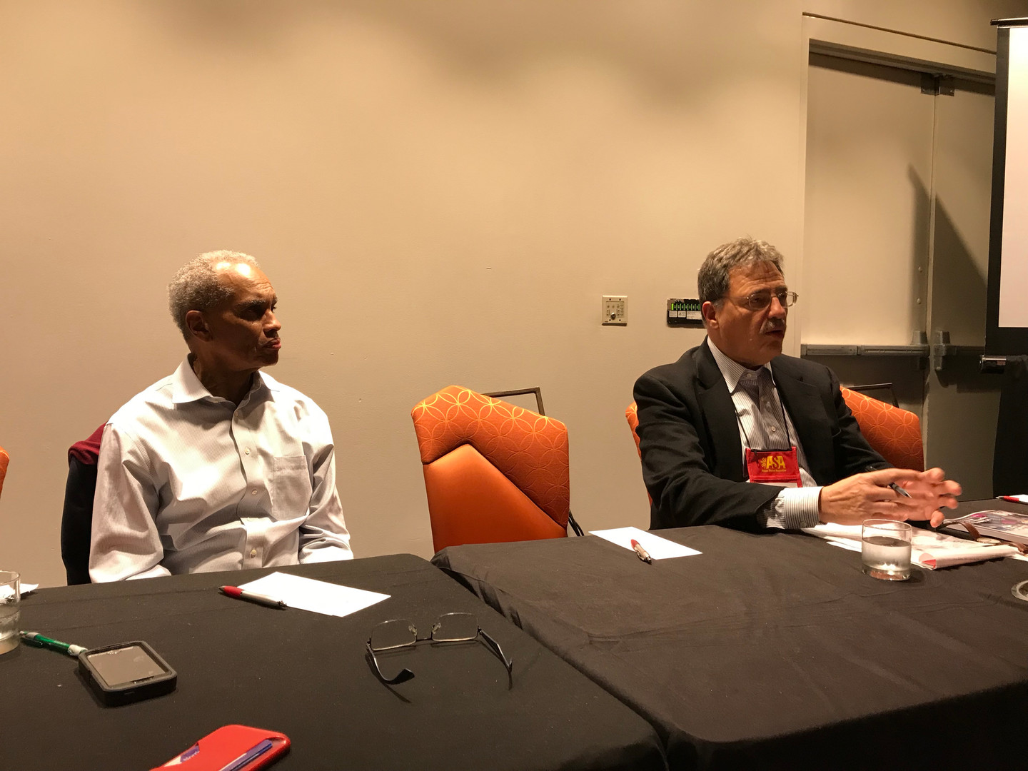 ASA 2018 Session on Ethiopia led by Richard Joseph and Larry Diamond