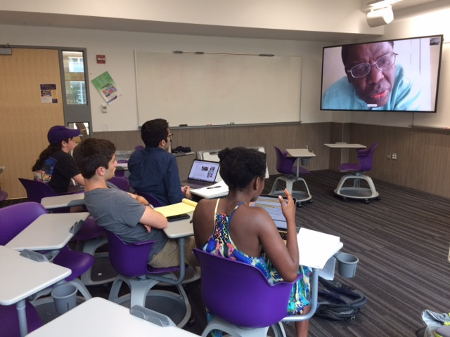 Summer 2018 Skype Meeting with Prof. Rotimi Suberu, Bennington College