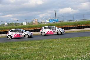 Pilotage Clio RS circuit du Vigeant