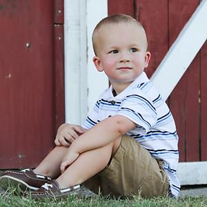 Zane's 2 year old Portraits