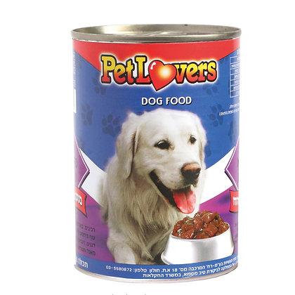 מזון לכלבים בטעם נתחי עוף והודו