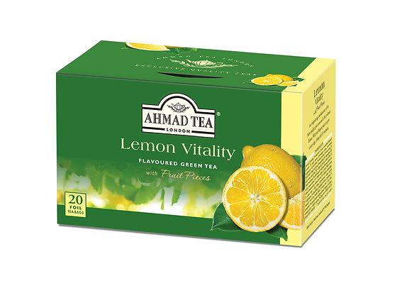תה ירוק לימון 20 שקיות