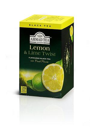 תה שחור לימון וליין 20 שקיות