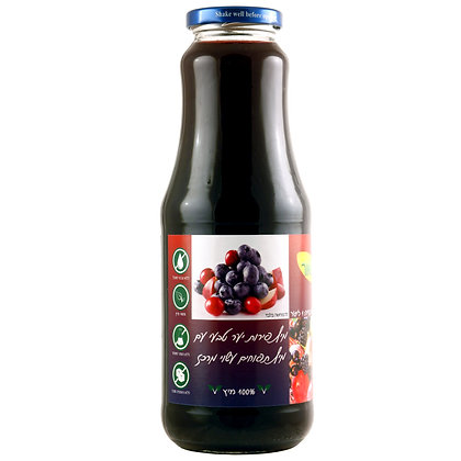 מיץ פירות יער 100% טבעי